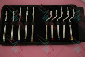 Sinus Lift Osteotomes Straight Off Set Concave Dental Implant Instrument