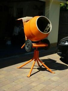 Belle Minimix 150 Petrol Concrete Mixer With Stand