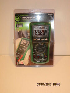 Greenlee Dm 810a Handheld Trms Digital Mm W lifetime Limited Warranty nisb F shp