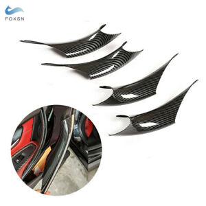 4x Inner Door Handle Panel Pull Protective Cover Trim For Bmw 3 4 Series F30 F35