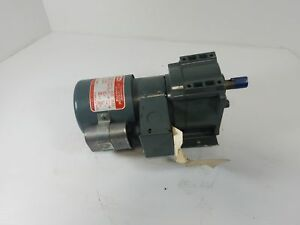 Dayton 4z523 1 15hp Single Phase Permanent Split Capacitor Gearmotor