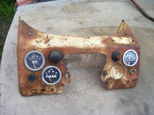 Vintage Ji Case 411 Gas Tractor Gauge Panel Assy 1955