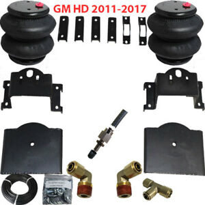 B Towing Air Bag Kit Bolt On 2011 2017 Chevy 2500 3500 Suspension Load Level