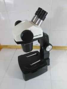 Leica Sz4 Stereo Zoom Microscope With Stand