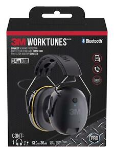 Headphones Hearing Protector Bluetooth Wireless Radio Fm Am 3m Worktunes Earmuff