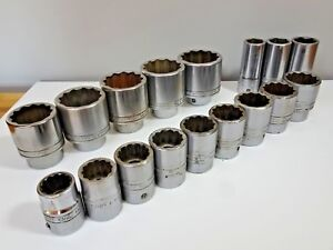 Snap On 3 4 Drive Heavy Duty Socket Set 7 8 2 Hgv Plant Aviation Large