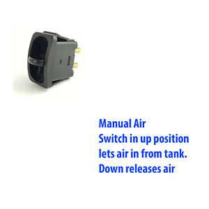 Manual Paddle Valve Switch Control Air Ride Suspension Air Lift 21703