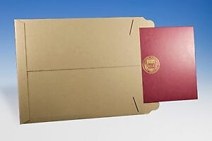 9 X 11 1 2 Kraft Tab Lock No Bend Mailers Open End Catalog Envelopes 200 lot