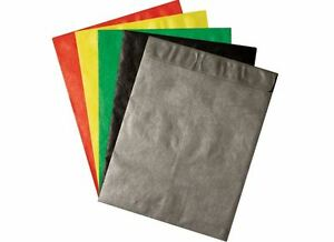9 X 12 Colored Tyvek Envelopes 100 lot Black Green Red Silver Yellow