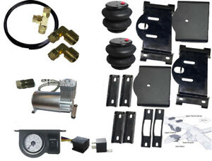 Tow Assist Over Load No Drill Level Kit 2007 2018 Chevy 1500 Air Bag Comp Kit