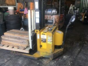 Yale Electric Pallet Jack Msw030scn12tv083 Walkie Walker Stacker
