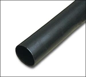 25pk 3m Fp301 1 16 6 Heat Shrink Tubing 1 16 6 Stick Thin Wall Black