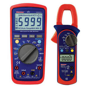 Digital Multimeter And Clamp On Ammeter 22xx29