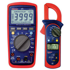 Digital Multimeter And Clamp On Ammeter 22xx28