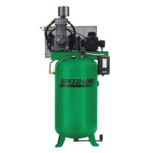 Speedaire Elec Air Compressor 2 Stage 7 5hp 24cfm 35wc51