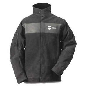 Miller Electric 273218 Flame resistant Jacket gray size 4xl