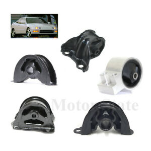 For Acura Integra Engine Motor Trans Mount Set 5pcs Fit Automatic Trans