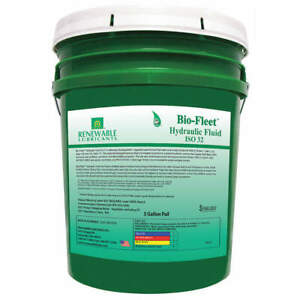 Biodegradable Hydraulic Oil 5 Gal iso 32 80824