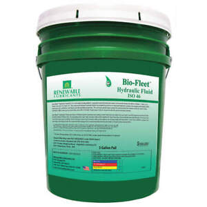 Biodegradable Hydraulic Oil 5 Gal iso 46 80834