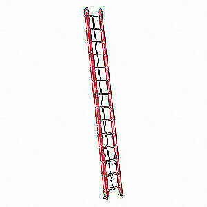 Westward Extension Ladder fiberglass 25 Ft Ia 44yy49