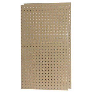 Pegbrd Panel 42 1 2 squr Hole tan pk2 5tpc5
