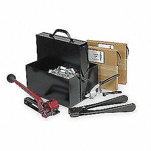 Grainger Approved Steel Strapping Kit steel 20 Mil 3ctw9