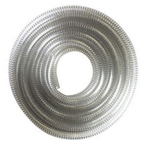 E James Suction And Transfer Hose 25 Ft clear 1530 250500