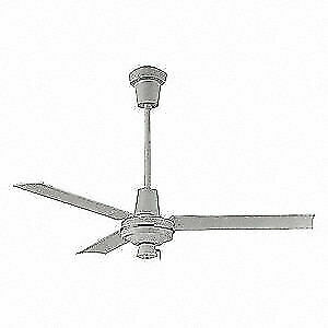 Leading Edge Commercial Ceiling Fan 3 Speeds 120v wht 56003