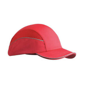 Surflex Bump Cap baseball hook and loop red Scarap1red