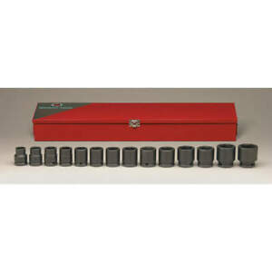 Wright Impact Socket Set 3 4 In Dr 14 Pc 610