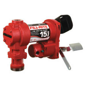 Fill rite Fuel Transfer Pump 15 Gpm sealed Ball Fr604g