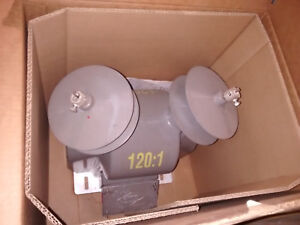 New Ritz Instrument Transformer 25 Kv Vzf25 10 Double Pole 14400 24940 Y 120 1