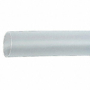 3m Shrink Tubing 3 0in Id clear 50ft Fp 301 3 50 Clear