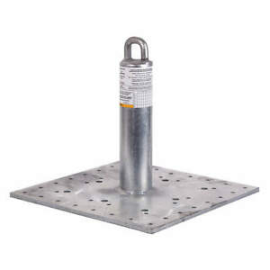 Guardian Galvanized Steel Roof Anchor 420 Lb 00645 w Silver