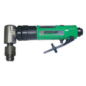 Speedaire Air Drill right Angle 90 Psi 3 8 In 45yy17