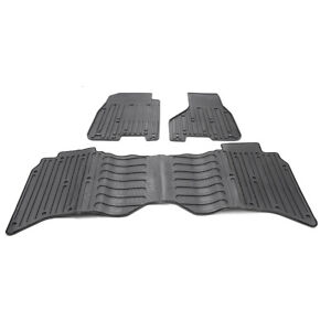 3pcs Slush Floor Mats For 2009 2017 Dodge Ram 1500 2500 3500 Crew Cab 82213404