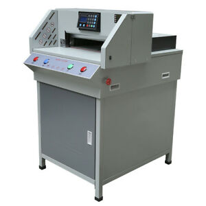 4908t Pro 490mm Electric Automatic Programable Paper Cutter Cutting Machine