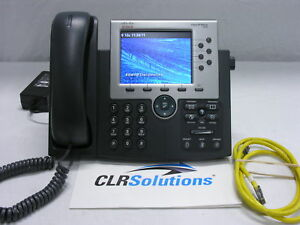 Cisco Ip Phone Cp 7965g V07 Unified Voip Ip Phone 5 Color Tft Display