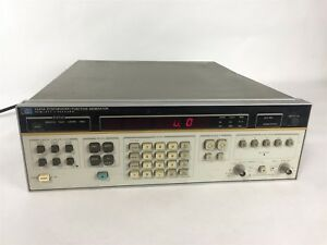 Hp Keysight Agilent 3325a Synthesizer Function Wideband Programmable Generator