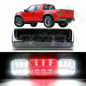 For 2004 2006 Ford F 150 Smoke Lens Led Third 3rd Brake Stop Tail Light Lamp