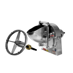 Shredder For Pizza Cheese Fits Hobart A200 D300 H600 A200t Plus 3 16 Disc