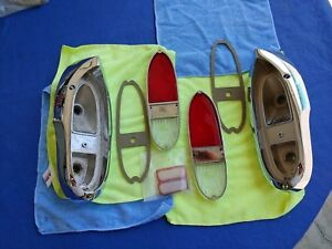 Chevy 1955 56 57 58 Cameo Gmc Original Tail Lights Completely Restored