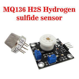 usa Mq136 Dc 5v H2s Hydrogen Sulfide Gas Sensor Module Qualitative Detection