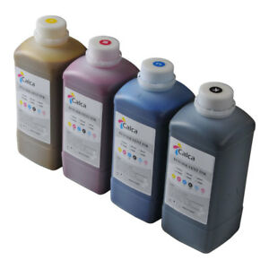 Us Stock Calca Compatible Roland Eco Solvent Ink 4 Colors Cmyk Set New