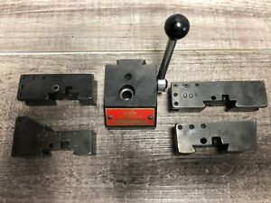 Rare Kdk 00 Series Tool Post 4 Holders Jewelers Lathe 001 002 003 006