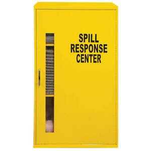 Condor Spill Control Cabinet Oil based Liquids 35zt06 Yellow