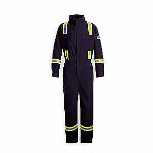 Nomex r Iiia Fr Coverall reflective Trim nvy 4xl hrc1 Cnbtnv Rg 58 Navy Blue