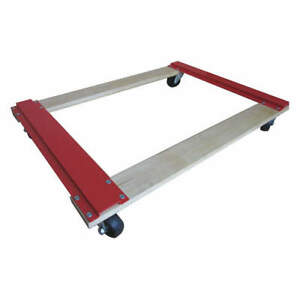 Grainger Approved Movers Dolly 1000lb 36x24x4 3 8 In 9gka3 Red