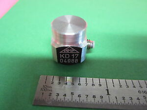 Mmf Kd17 Piezoelectric Accelerometer Made In Germany Calibration Vibration