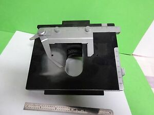 Microscope Part Leitz Germany Stage Table Micrometer Ortholux Ii As Is B 11 e 07